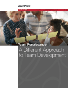 cover page of ArchPoint Teamwork Whitepaper